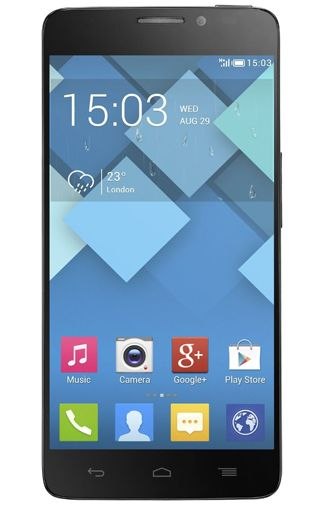 Productafbeelding Alcatel OneTouch Idol X 6040X Slate Grey