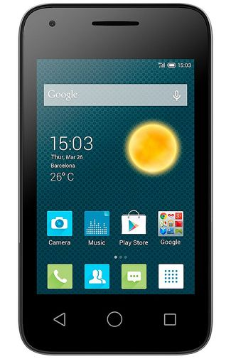 Productafbeelding Alcatel OneTouch Pixi 3 3.5 Dual Sim Black