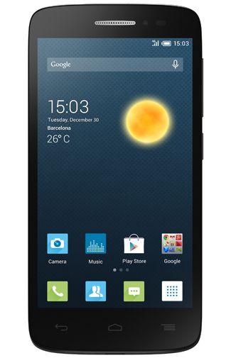 Productafbeelding Alcatel OneTouch Pop 2 4.5 DS Black