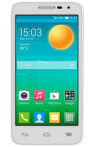 Alcatel OneTouch Pop D5 DS White