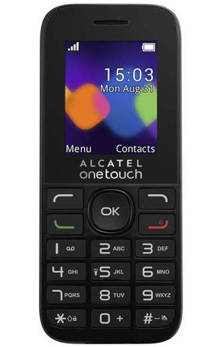 Alcatel OneTouch 10.16D Black
