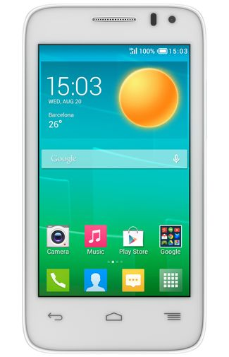 Productafbeelding Alcatel OneTouch Pop D3 DS White