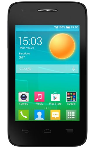 Productafbeelding van de Alcatel OneTouch Pop D1 DS Black Blue
