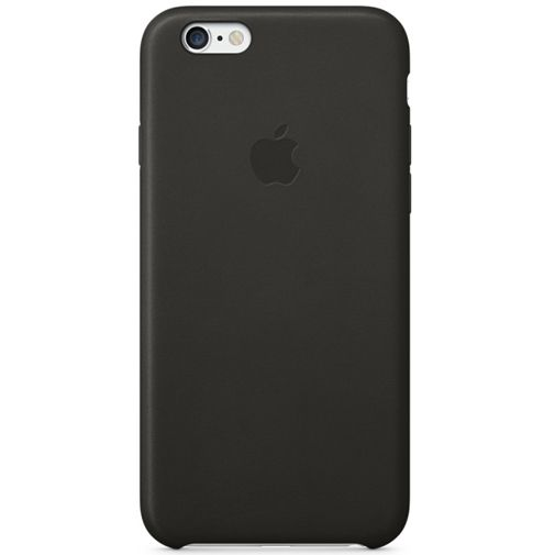 Apple Leather Case Black iPhone 6/6S