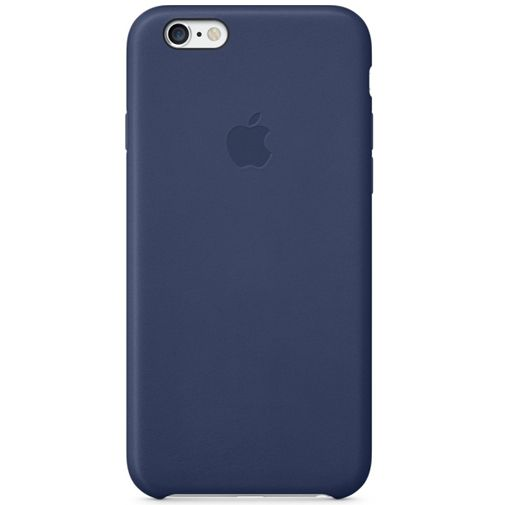 Apple Leather Case Blue iPhone 6/6S