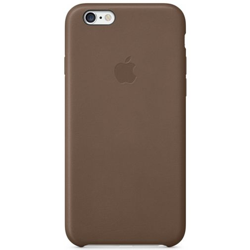 Productafbeelding van de Apple Leather Case Brown iPhone 6 Plus/6S Plus