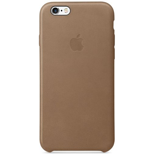 Productafbeelding van de Apple Leather Case Brown iPhone 6/6S