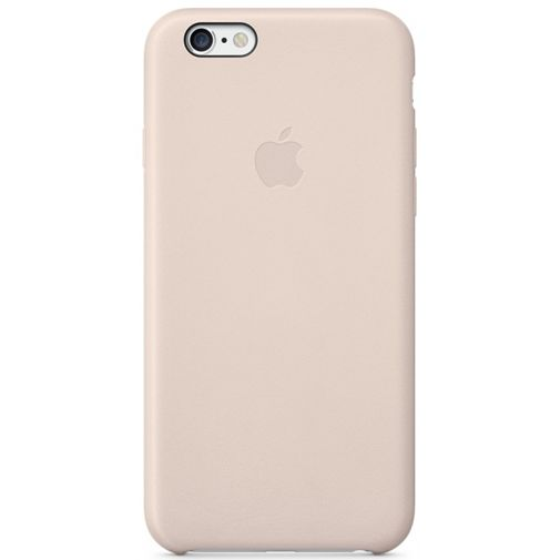 Apple Leather Case Pink iPhone 6/6S