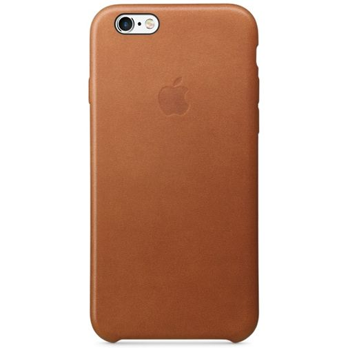 Apple Leather Case Saddle Brown iPhone 6/6S