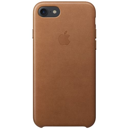 Apple Leather Case Saddle Brown iPhone 7/8