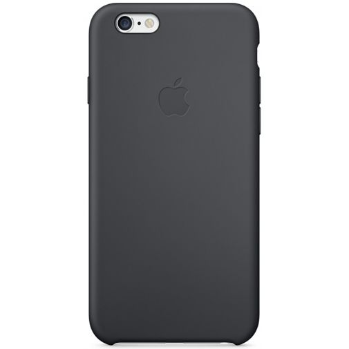 Apple Silicone Case Black iPhone 6/6S