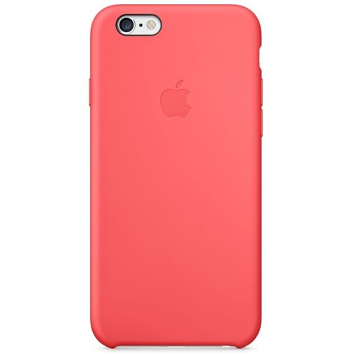 Apple Silicone Case Pink iPhone 6/6S
