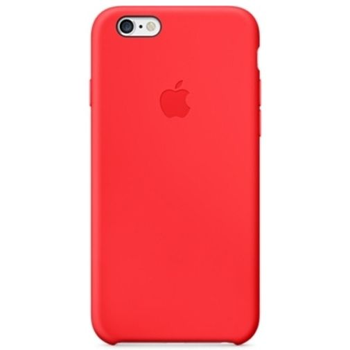 Apple Silicone Case Red iPhone 6/6S