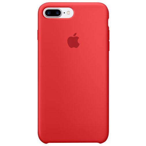 Apple Silicone Case Red iPhone 7 Plus