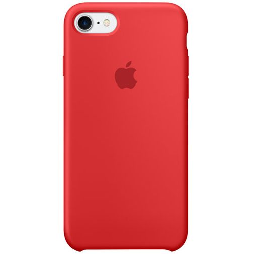 Apple Silicone Case Red iPhone 7/8