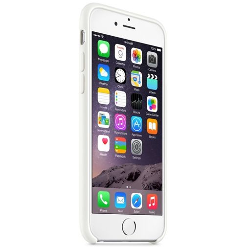 Apple Silicone Case White iPhone 6/6S