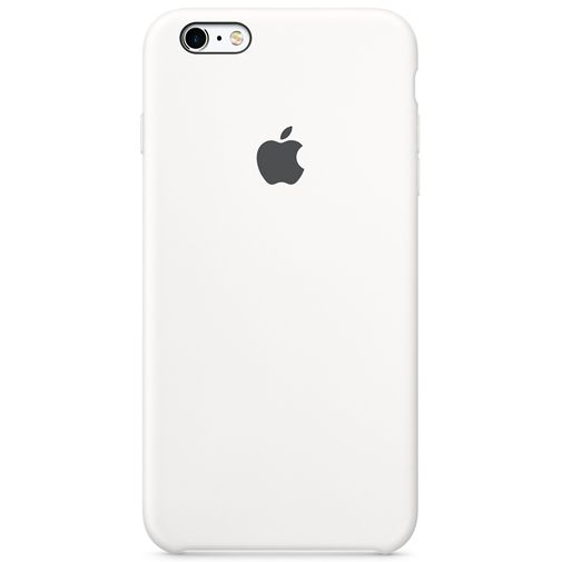 Apple Silicone Case White iPhone 6/6S