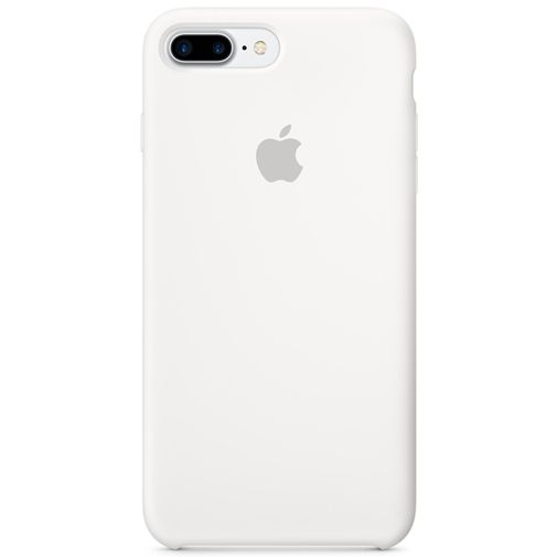 Apple Silicone Case White iPhone 7 Plus