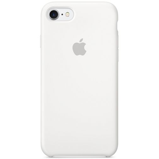 Apple Silicone Case White iPhone 7/8