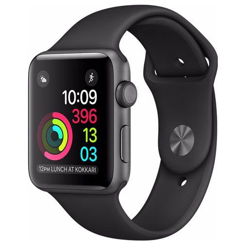 Apple Watch Series 2 Sport 38mm Grey Aluminium (Black Strap)