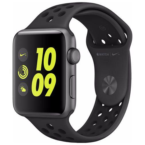 Productafbeelding van de Apple Watch Series 2 Sport Nike+ 42mm Grey Aluminium (Black Strap)