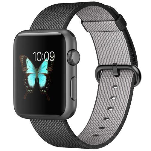 Apple Watch Sport 42mm Black Woven Nylon