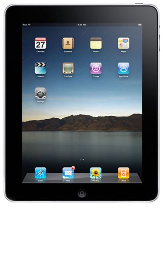 Productafbeelding van de Apple iPad 1 WiFi + 3G 32GB Black