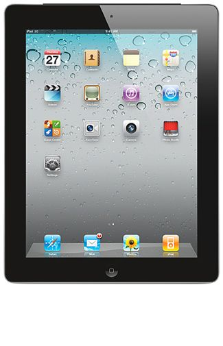Productafbeelding Apple iPad 2 WiFi 16GB Black
