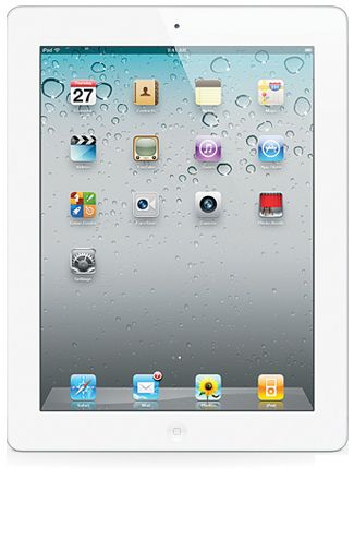 Productafbeelding van de Apple iPad 2 WiFi 64GB White