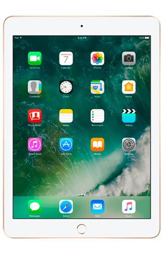 Productafbeelding van de Apple iPad 2017 WiFi + 4G 32GB Gold