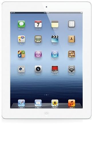 Productafbeelding van de Apple iPad 4 WiFi 64GB White