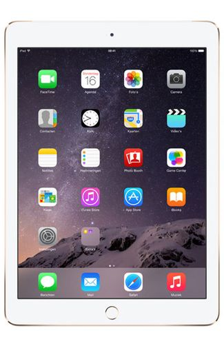 Productafbeelding van de Apple iPad Air 2 WiFi 64GB Gold