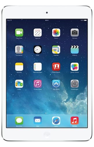 Productafbeelding van de Apple iPad Mini 2 128GB WiFi + 4G White