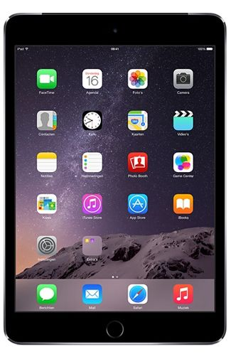 Productafbeelding van de Apple iPad Mini 3 WiFi + 4G 16GB Black