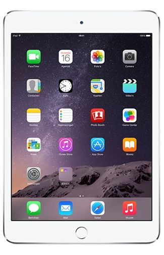 Productafbeelding van de Apple iPad Mini 3 WiFi + 4G 16GB White