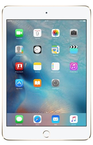 Productafbeelding van de Apple iPad mini 4 WiFi 64GB Gold