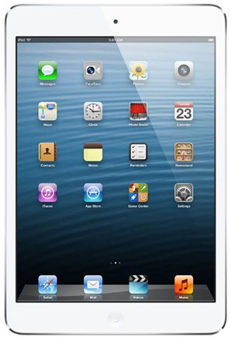 Productafbeelding van de Apple iPad Mini WiFi + 4G 16GB White