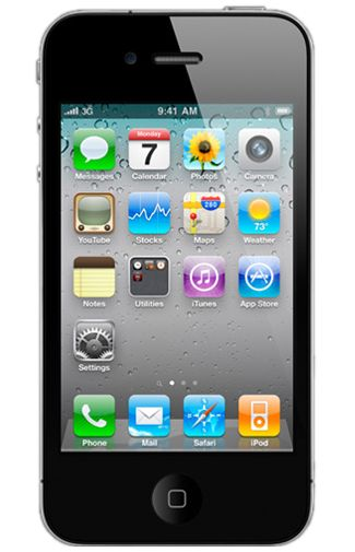 Productafbeelding Apple iPhone 4 Certified Pre-Owned 8GB Black