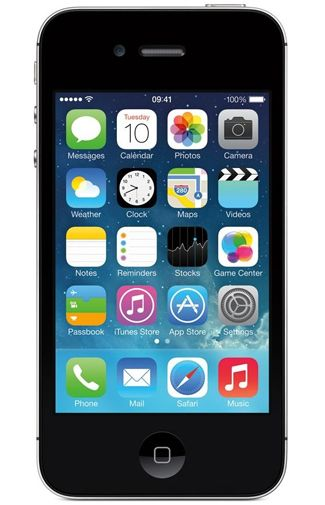 Productafbeelding Apple iPhone 4 8GB Certified Pre-Owned Black