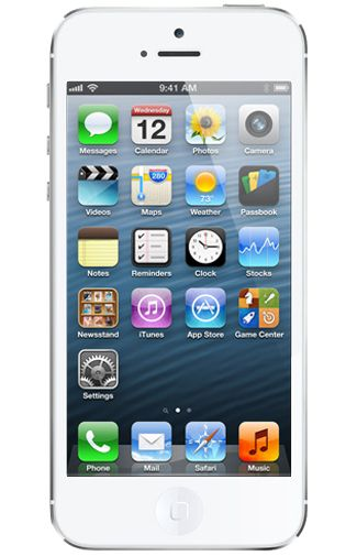 Productafbeelding Apple iPhone 5 Certified Pre-Owned 16GB White