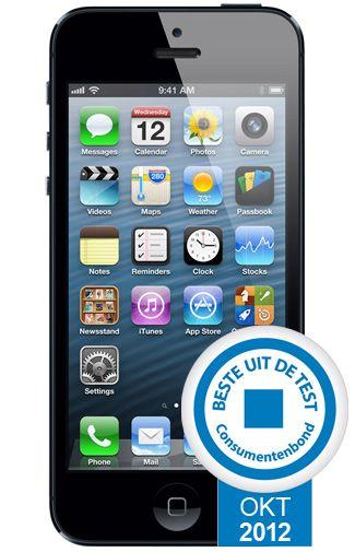 Productafbeelding van de Apple iPhone 5 64GB Black