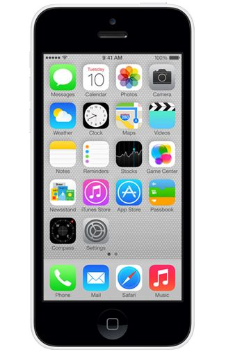 Productafbeelding Apple iPhone 5C 16GB White