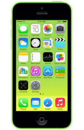 Productafbeelding Apple iPhone 5C 8GB Green