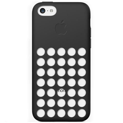 Apple iPhone 5C Soft Case Black