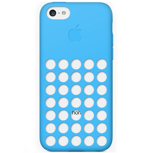 Apple iPhone 5C Soft Case Blue
