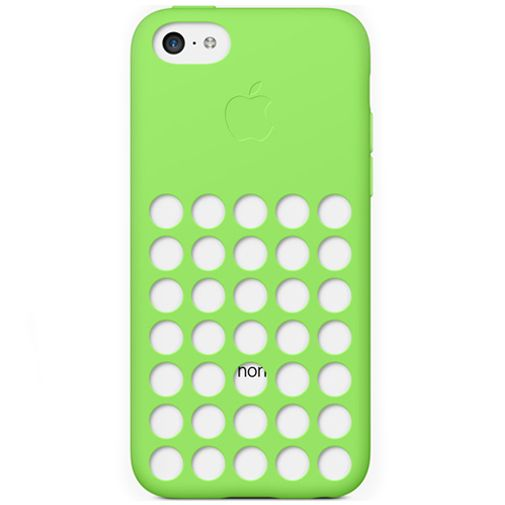Apple iPhone 5C Soft Case Green