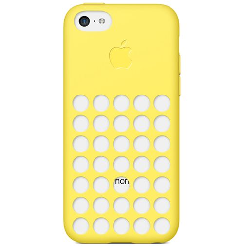 Apple iPhone 5C Soft Case Yellow