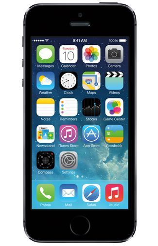 Productafbeelding van de Apple iPhone 5S 64GB Black