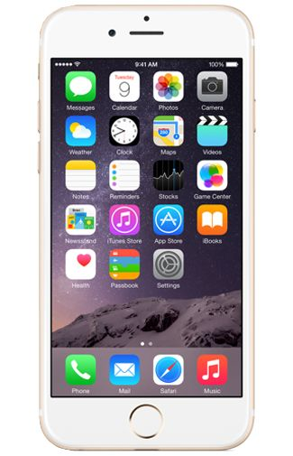 Productafbeelding Apple iPhone 6 128GB Gold