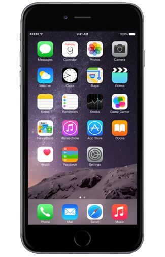 Productafbeelding van de Apple iPhone 6 Plus 16GB Black